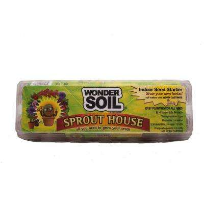 Sprout House Microgreen Growing Kit with Expanding Coco Coir Wafers, Cups and Seeds