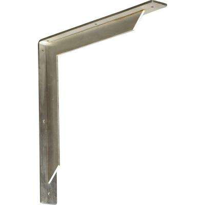 16 in. x 2 in. x 16 in. Stainless Steel Unfinished Metal Stockport Bracket