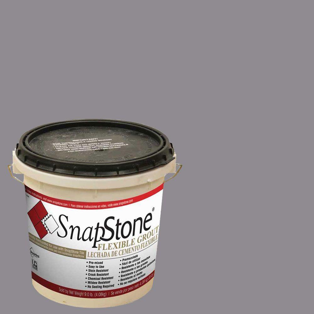 SnapStone Raincloud Gray 9 lb. Urethane Flexible Grout
