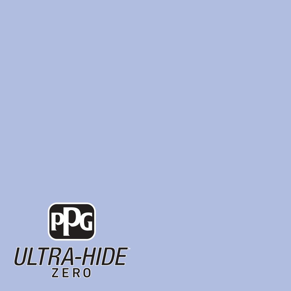Ppg 5 Gal Hdpv28u Ultra Hide Zero Roslyns Periwinkle Blue Flat
