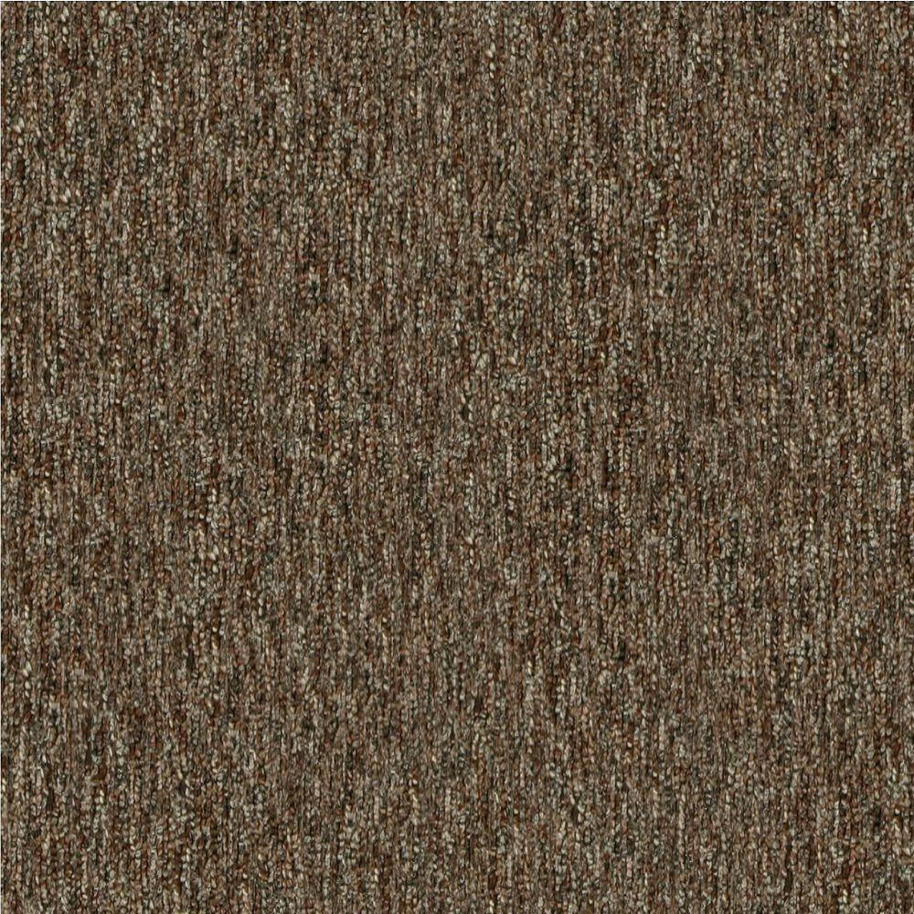Key Player 20 - Color Bonanza Brown 12 ft. Carpet