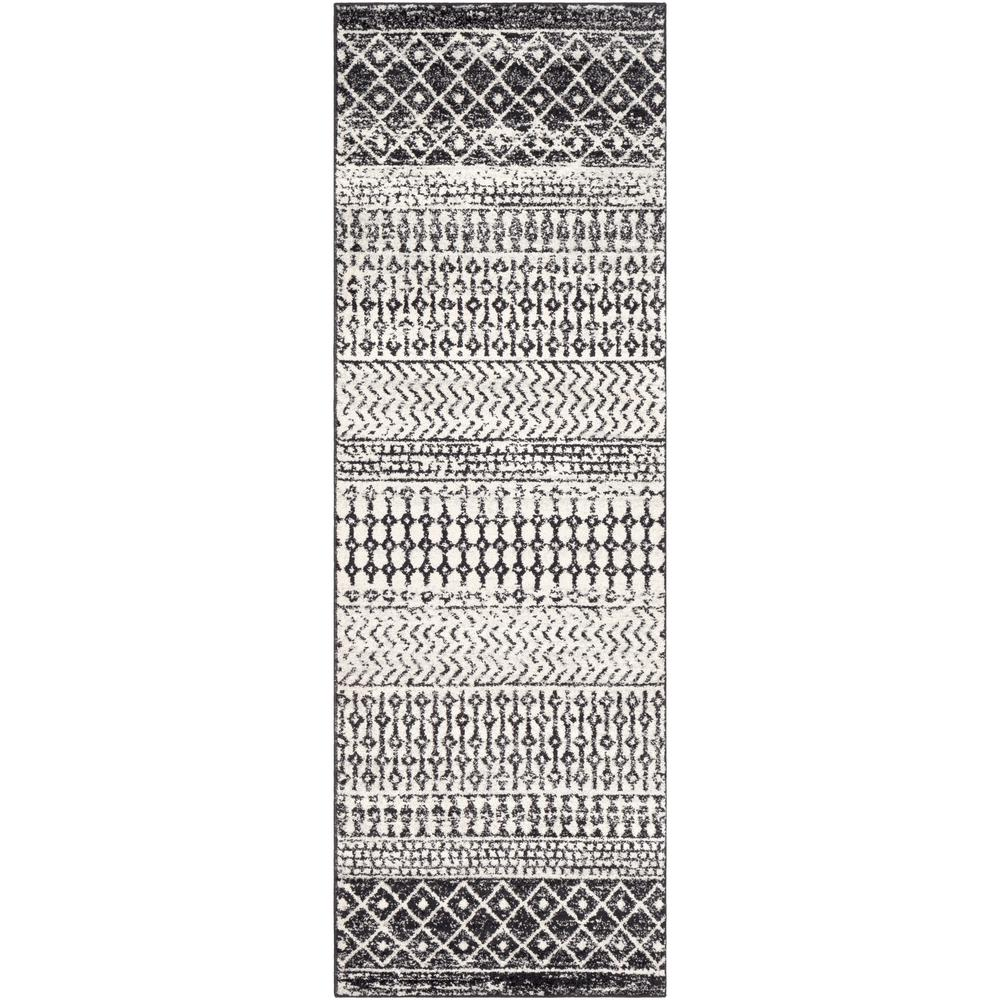 Artistic Weavers Laurine Black/White 2 ft. 7 in. x 7 ft. 6 in. Runner Rug was $120.0 now $54.24 (55.0% off)