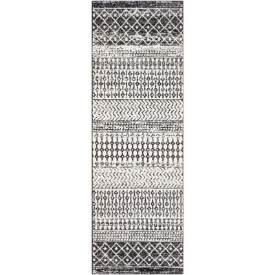 Artistic Weavers Laurine Black White 8 Ft X 10 Ft Area Rug S00151077097 The Home Depot