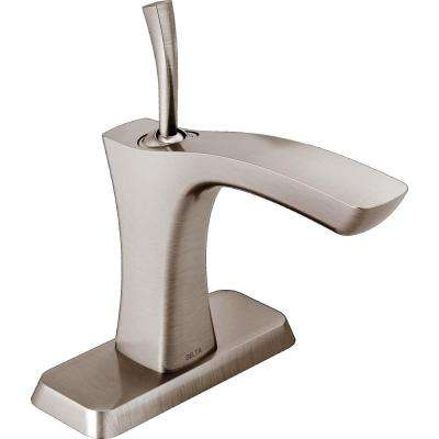 Tesla Single Hole Single-Handle Bathroom Faucet in Stainless