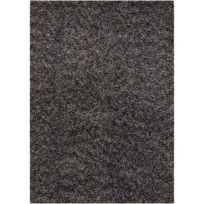 Astrid Brown/Blue/Grey/Black 7 ft. 9 in. x 10 ft. 6 in. Indoor Area Rug