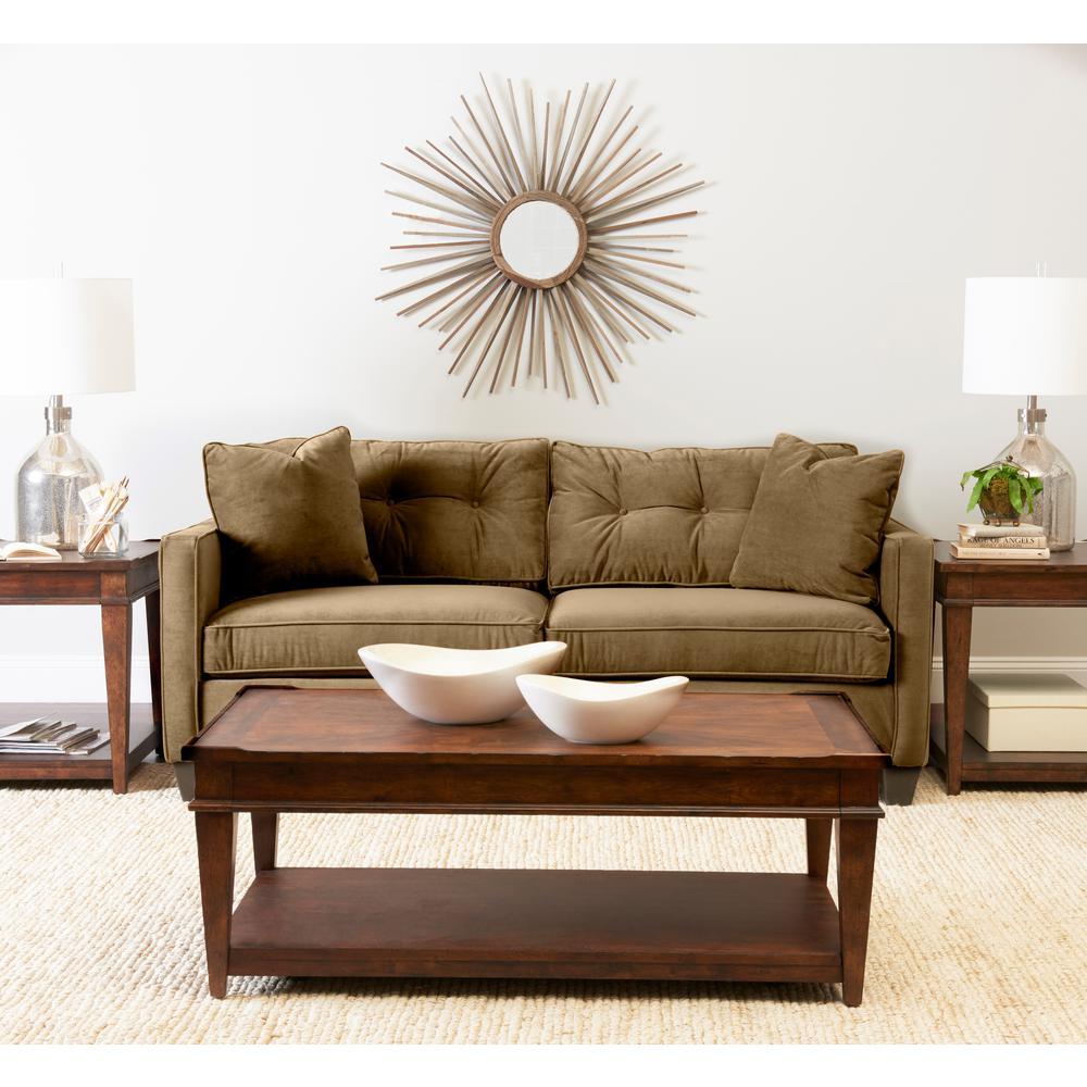 Merveilleux Klaussner Brower Tan Sofa