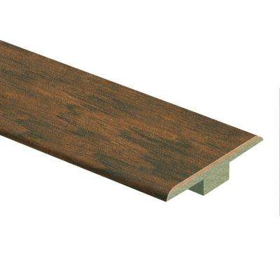 Dark Brown Hickory 7/16 in. Thick x 1-3/4 in. Wide x 72 in. Length Laminate T-Molding