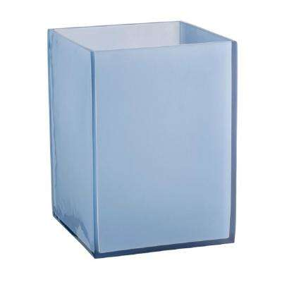 Glacier Frost Wastebasket in Blue