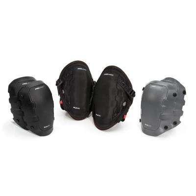 Gel Knee Pad and Cap Attachment Combo Pack (3-Piece)