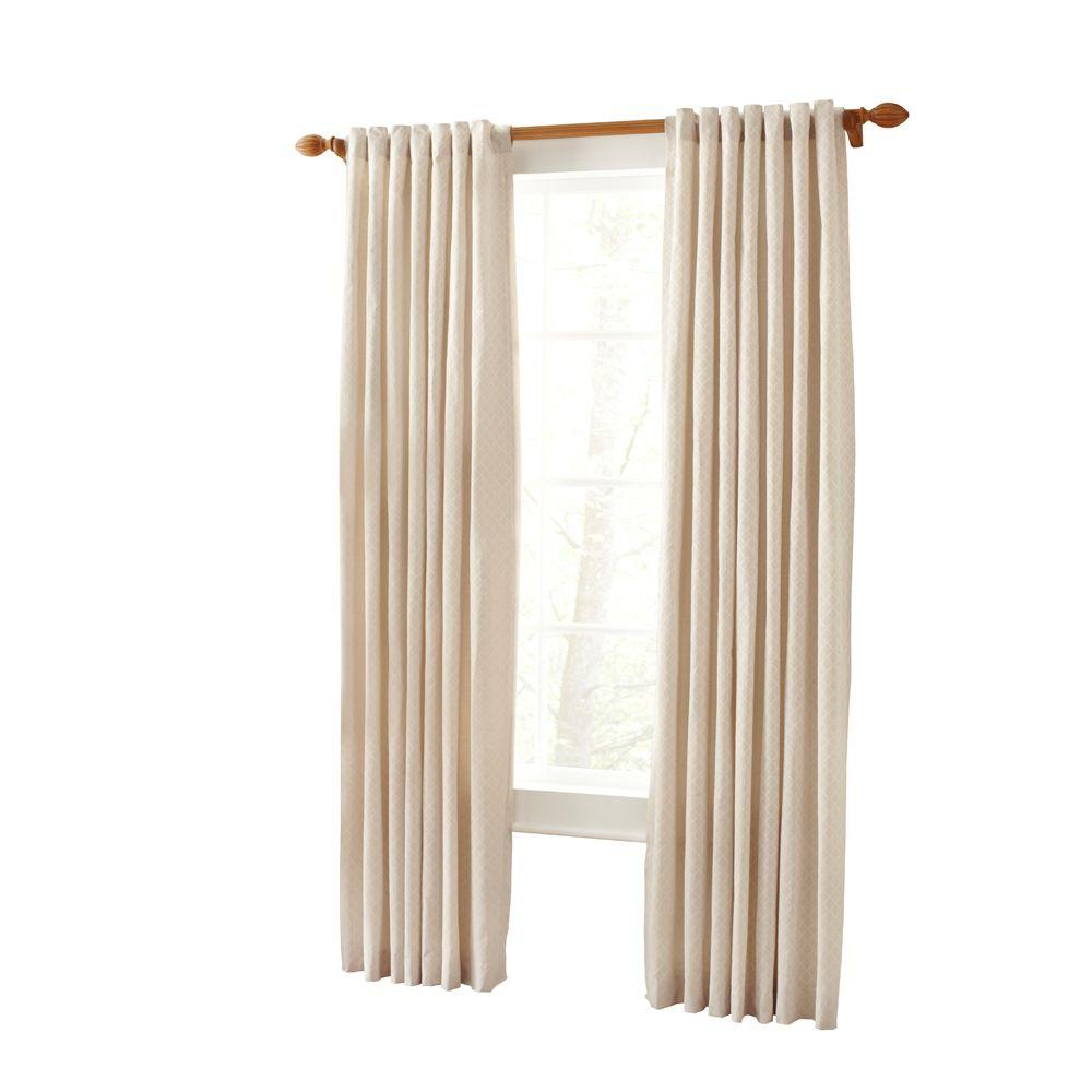 Martha Stewart Living Hickory Marrakesh Screen Back Tab Curtain (Price Varies by Size)