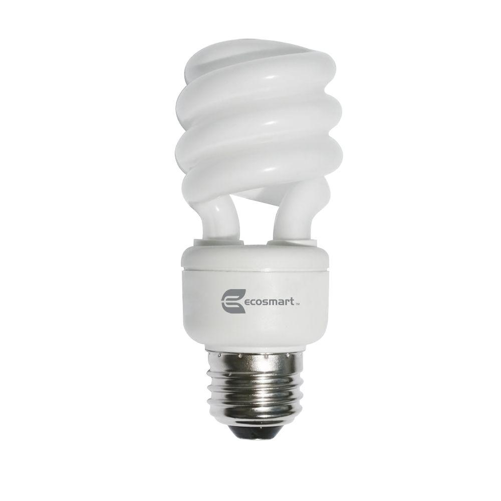 60-Watt Equivalent E26 (5500K) Shatter Resistant High CRI Spiral CFL Light