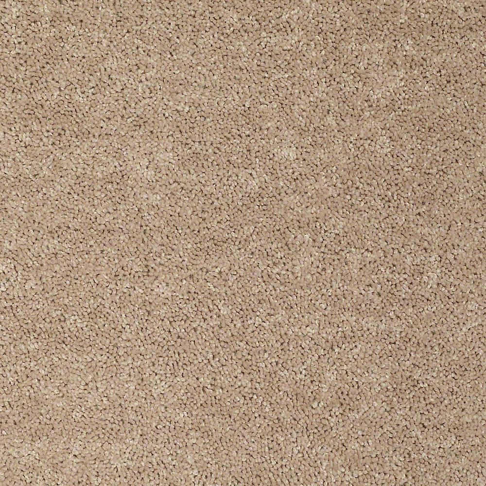 Carpet Sample - Palmdale I 12 - In Color Honey Wheat 8 in. x 8 in.