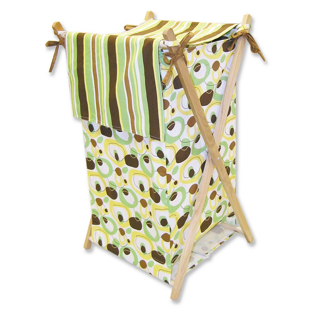Trend Lab Fabric Storage Bin Large Gigi Print