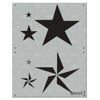 Rock Stars 2 Layer Stencil