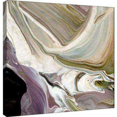 15.in x 15.in ''Painterly Variations 2'' Printed Canvas Wall Art