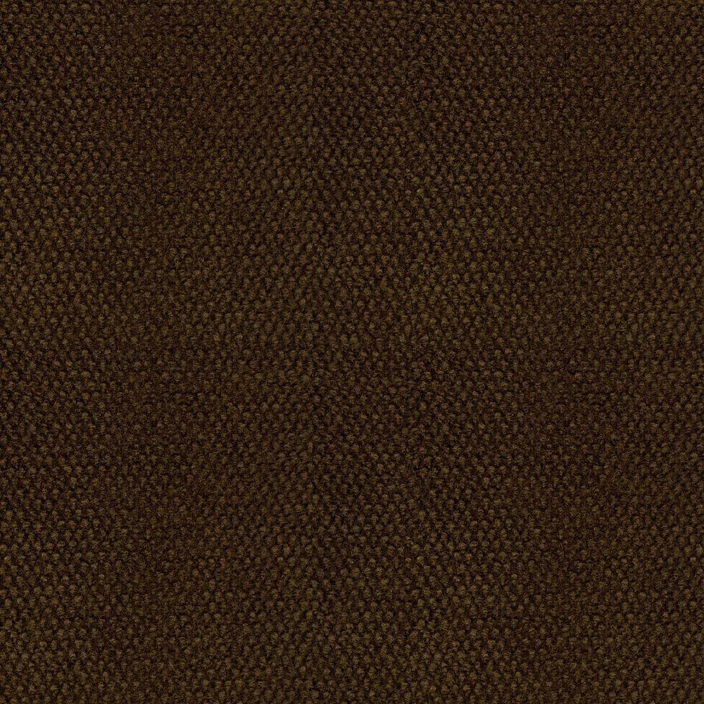 TrafficMaster Hobnail Brown Texture 18 in. x 18 in. Indoor and Outdoor Carpet Tile (16 Tiles/Case)
