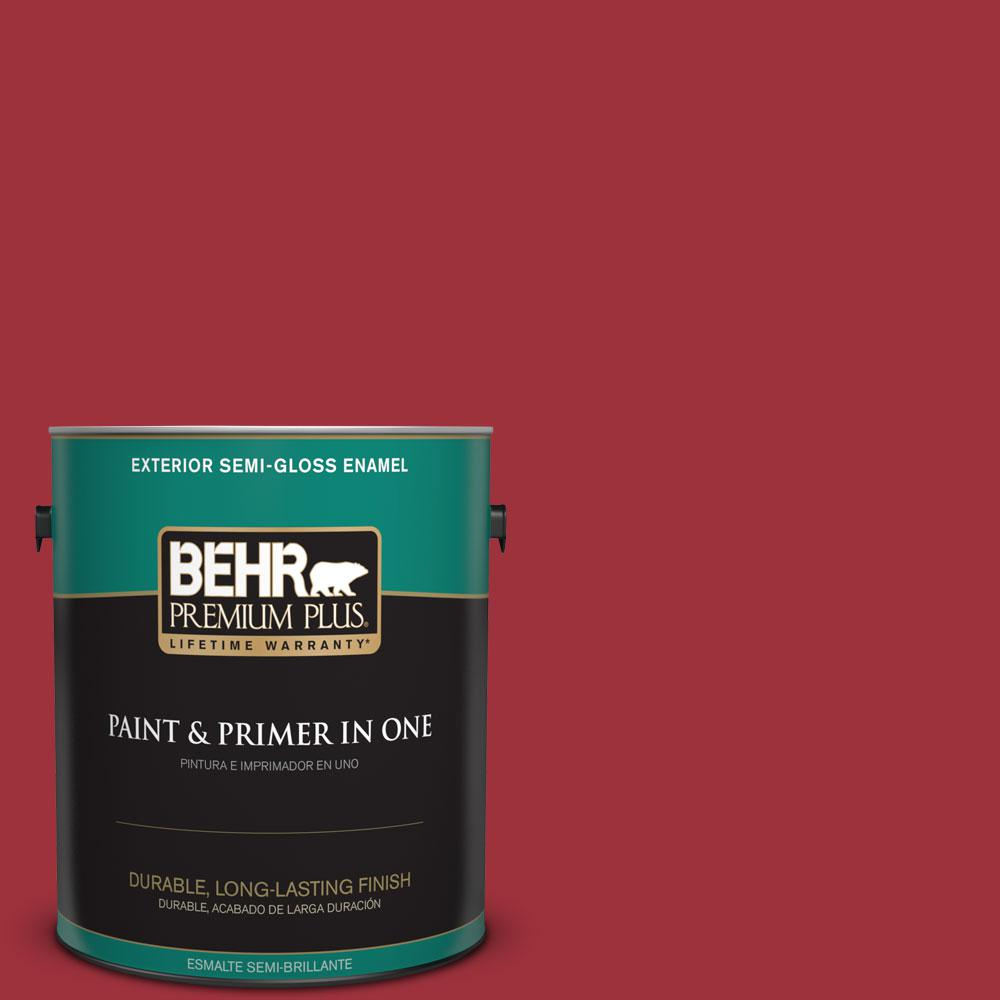 1-gal. #S-G-150 Ruby Ring Semi-Gloss Enamel Exterior Paint
