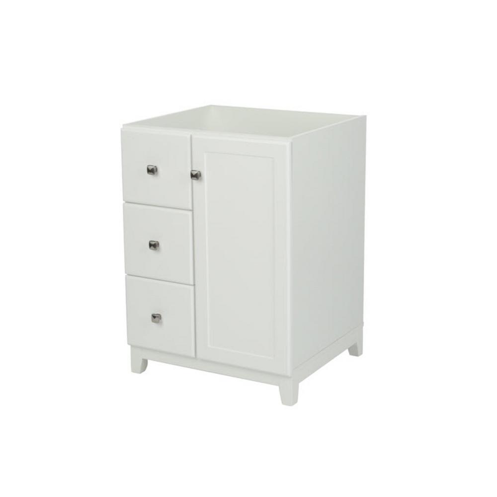 Design House Shorewood 24 In X 21 In X 33 In Unassembled 1 Door 2 Drawer Vanity Cabinet In