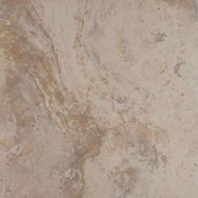 Piazza Ivory 20 in. x 20 in. Glazed Porcelain Floor and Wall Tile (19.44 sq. ft. / case)