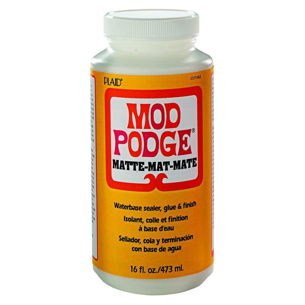 Mod Podge 16 oz. Matte Decoupage Glue