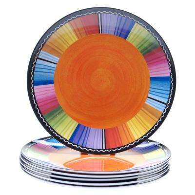 Serape Salad and Dessert Plate (Set of 6)