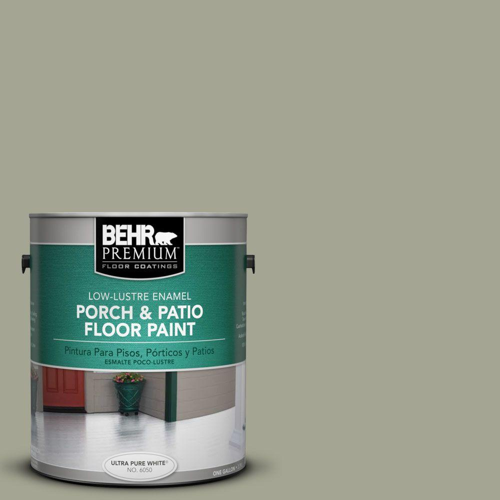 1-Gal. #PFC-38 Elemental Green Low-Lustre Porch and Patio Floor Paint