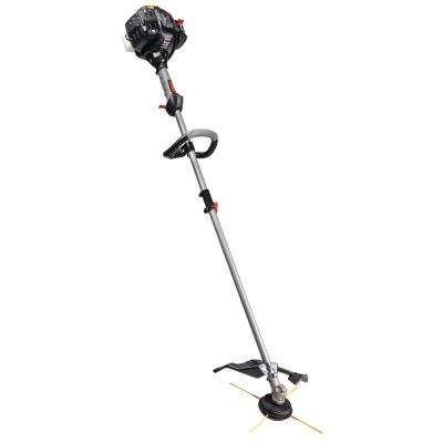 27 cc 2-Cycle Straight Shaft Attachment Capable Gas Trimmer with JumpStart Capabilities
