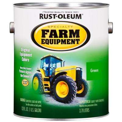 1 gal. Farm Equipment John Deere Green Gloss Enamel Paint (2-Pack)