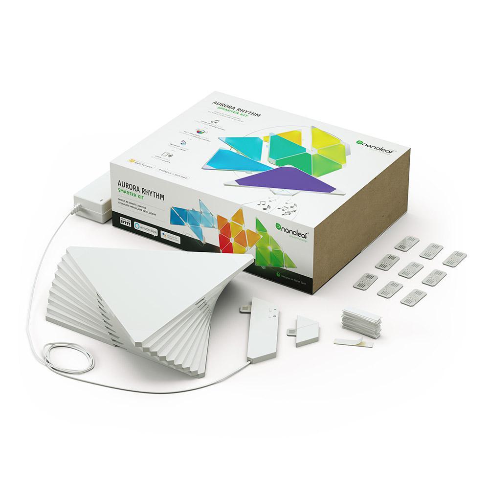Nanoleaf Rhythm Smarter Kit Nl28 2003tw 9pk The Home Depot