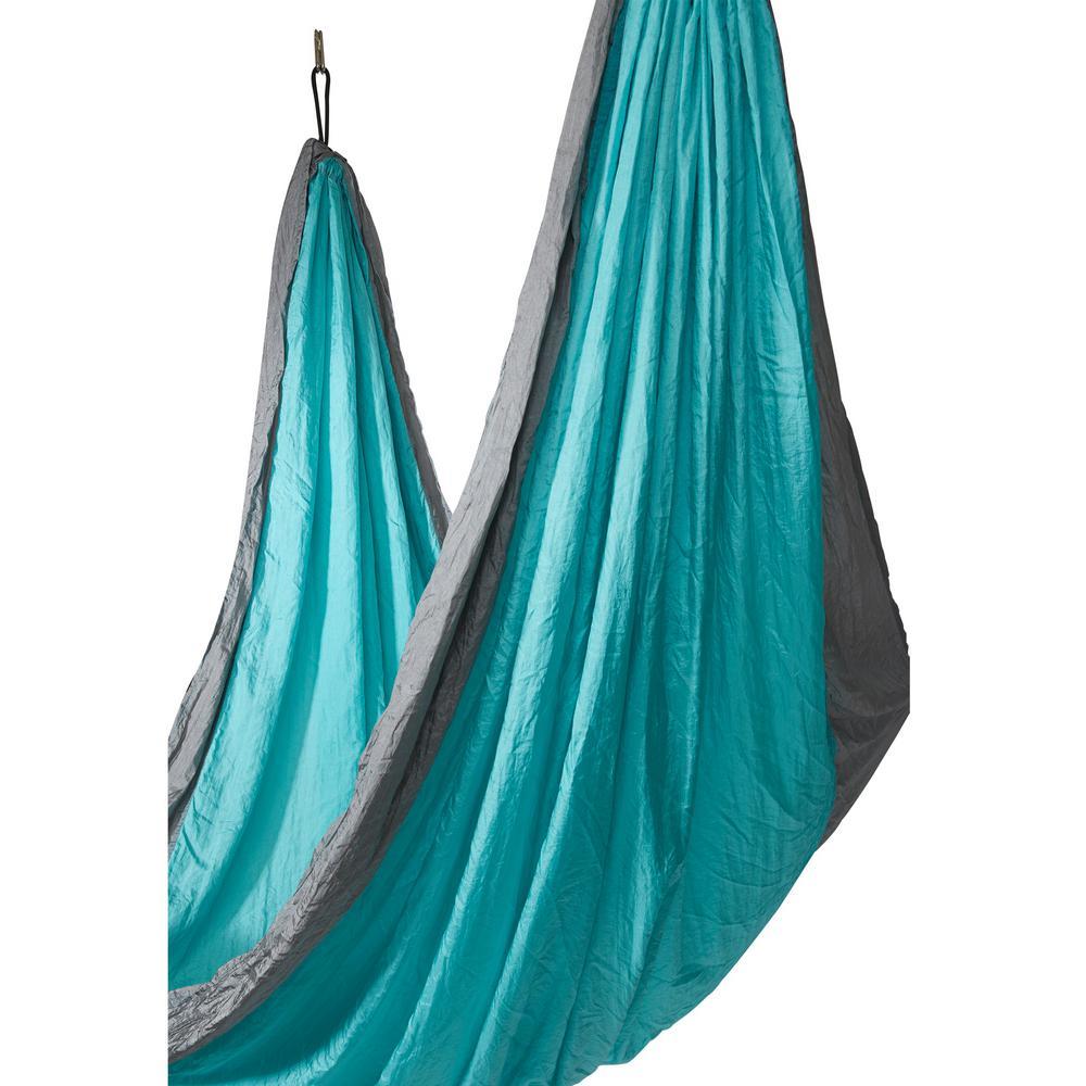 10 ft. Portable Nylon Camping Hammock Bed in Colibri Tosca