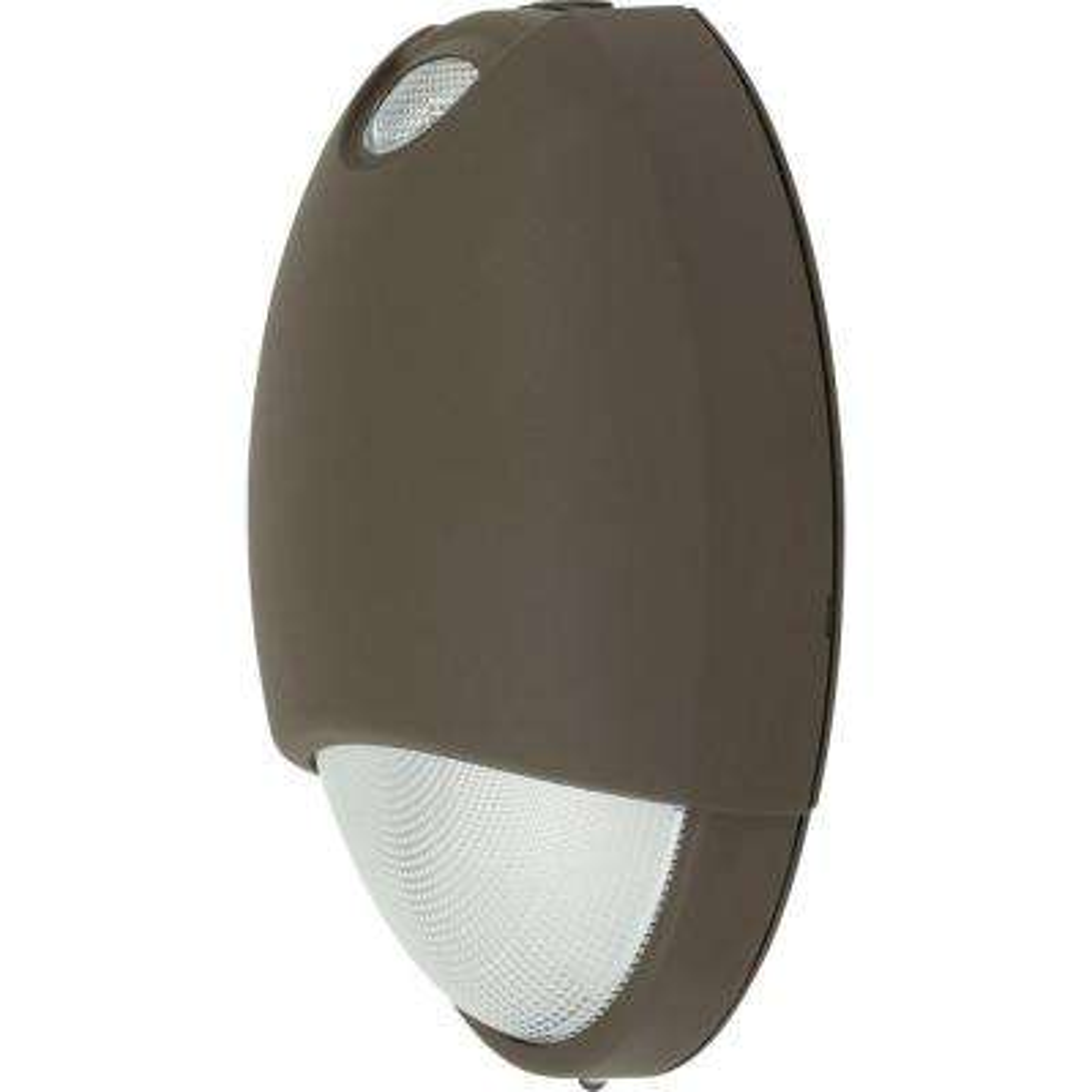 PEOEU Collection 2-Watt Dark Bronze Integrated LED Emergency Light