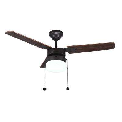 Montgomery 42 in. Indoor Oil Rubbed Bronze Ceiling Fan with Light Kit
