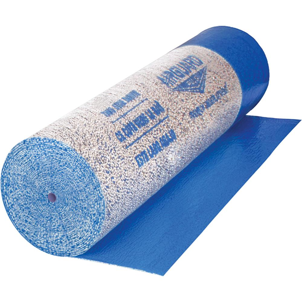 Roberts AirGuard 630 sq. ft. 40 in. x 189 ft. x 2 mm 5-in-1 Underlayment with Microban for Laminate and Engineered Wood Floors