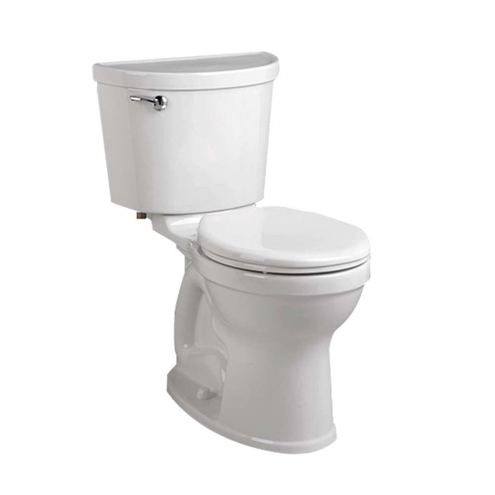Champion Pro 2-Piece 1.28 GPF Single Flush Right Height Round Toilet