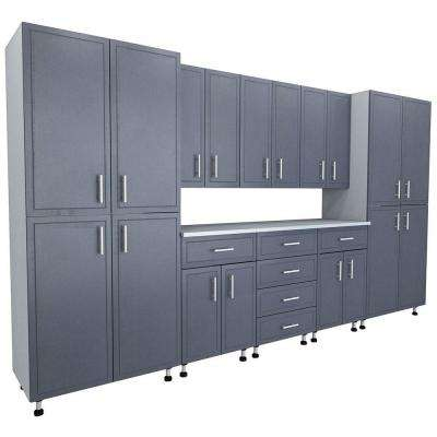 Superbe 80.5 In. X 144 In. X 21 In. ProGarage Premium Storage Systems In