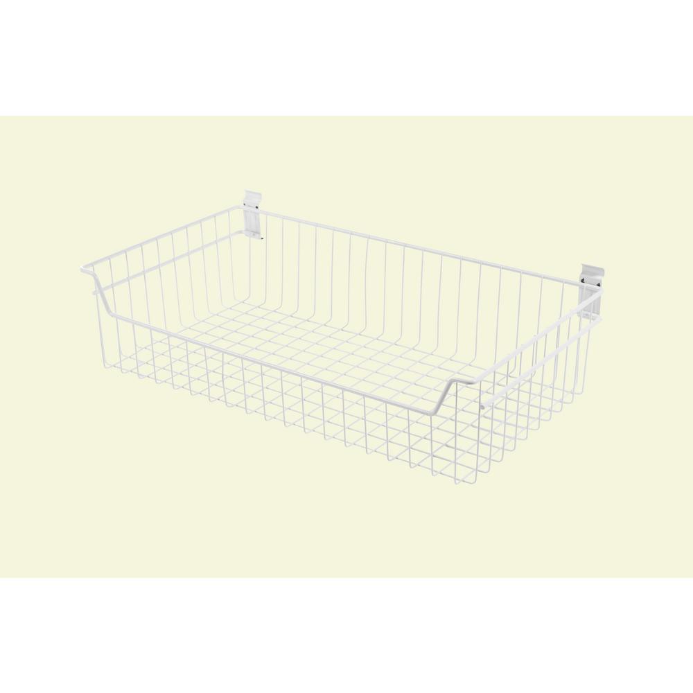 ef3bde0b93324 Drawer Basket - Storage   Organization - The Home Depot