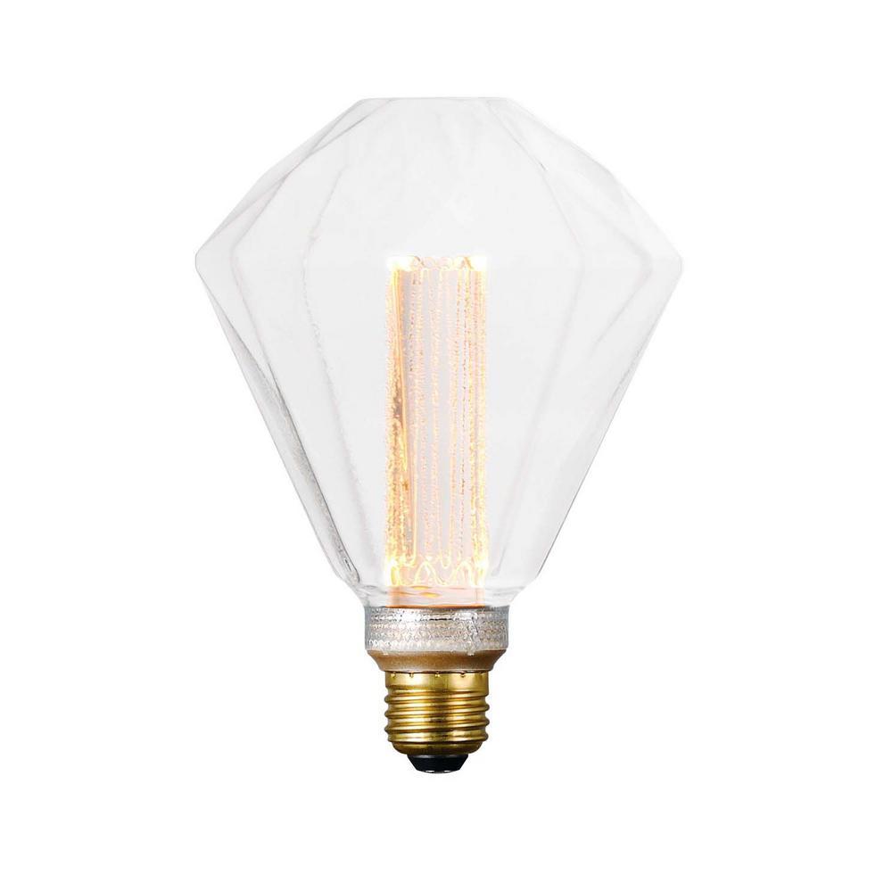 60-Watt Equivalent Dimmable LED E26 S125 CL Classic Pattern Light Bulb