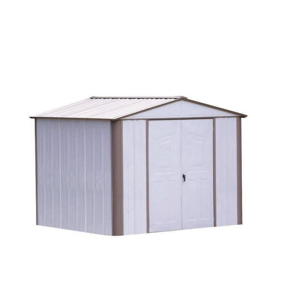 Arrow Ezee Shed 8 ft. x 6 ft. Storage Building-DISCONTINUED