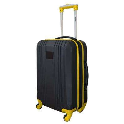 Carry-On Hardcase 21 in. Yellow Dual Color Expandable Spinner