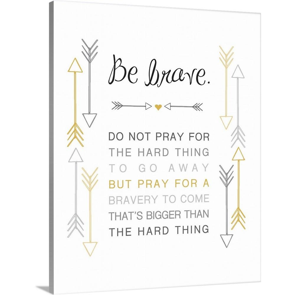 greatbigcanvas  u0026quot arrow inspiration  black and gold  be