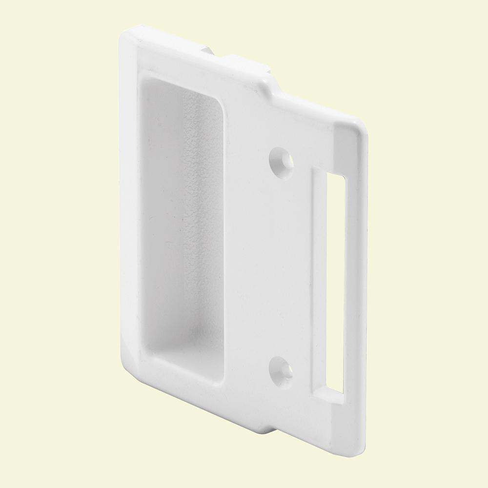 Prime Line White Sliding Screen Door Pull A 208 The Home