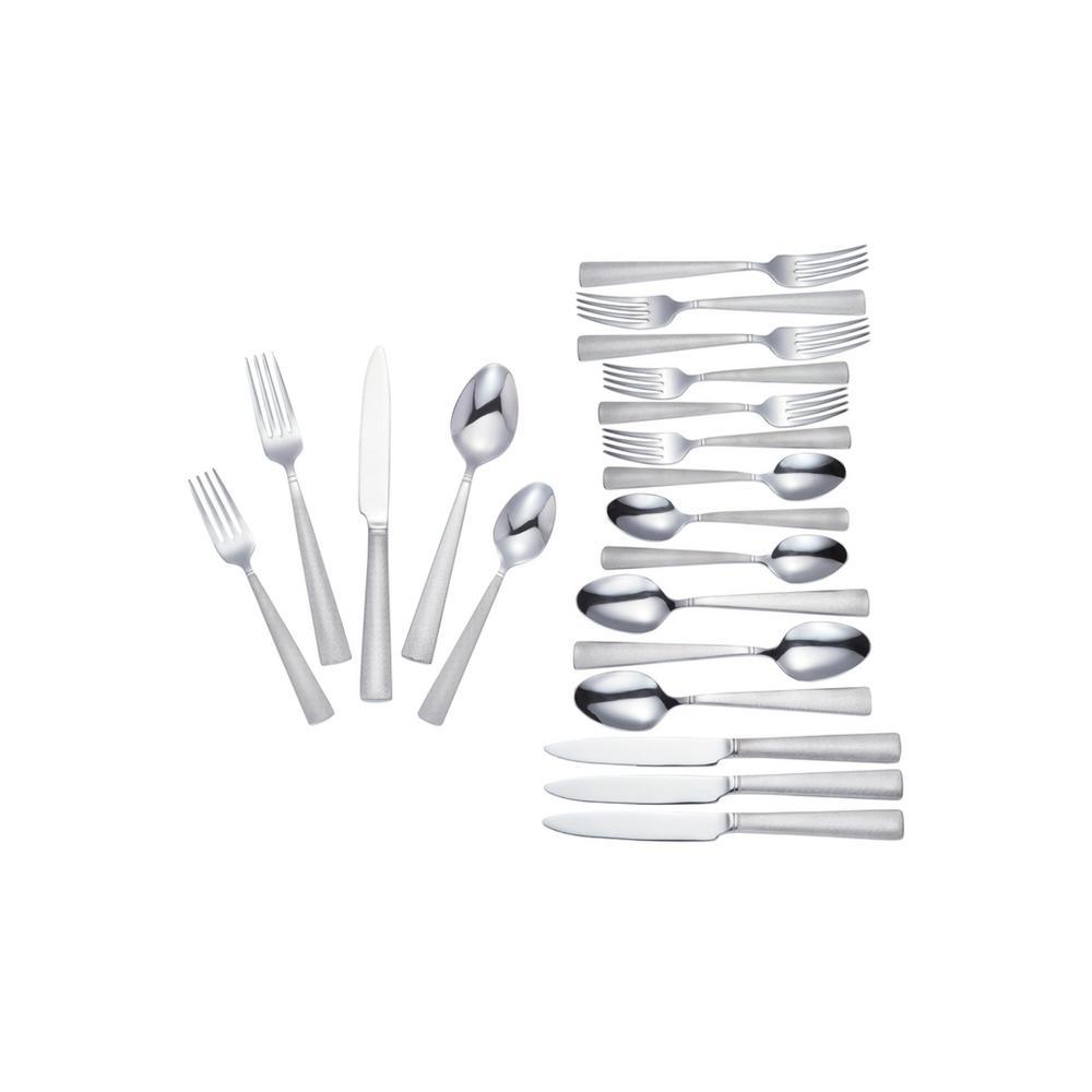 McKenna 20-Piece Stainless Steel Flatware Set (Service for 4)