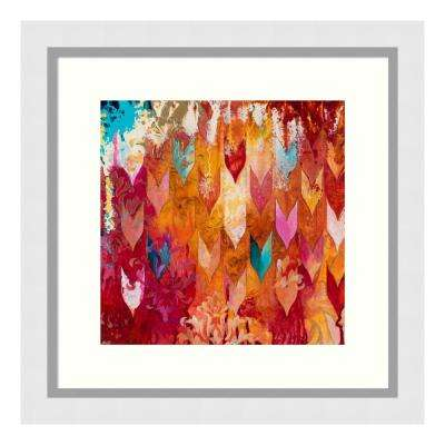 """Love Falls From The Sky"" by Heather Noel Robinson Framed Wall Art"