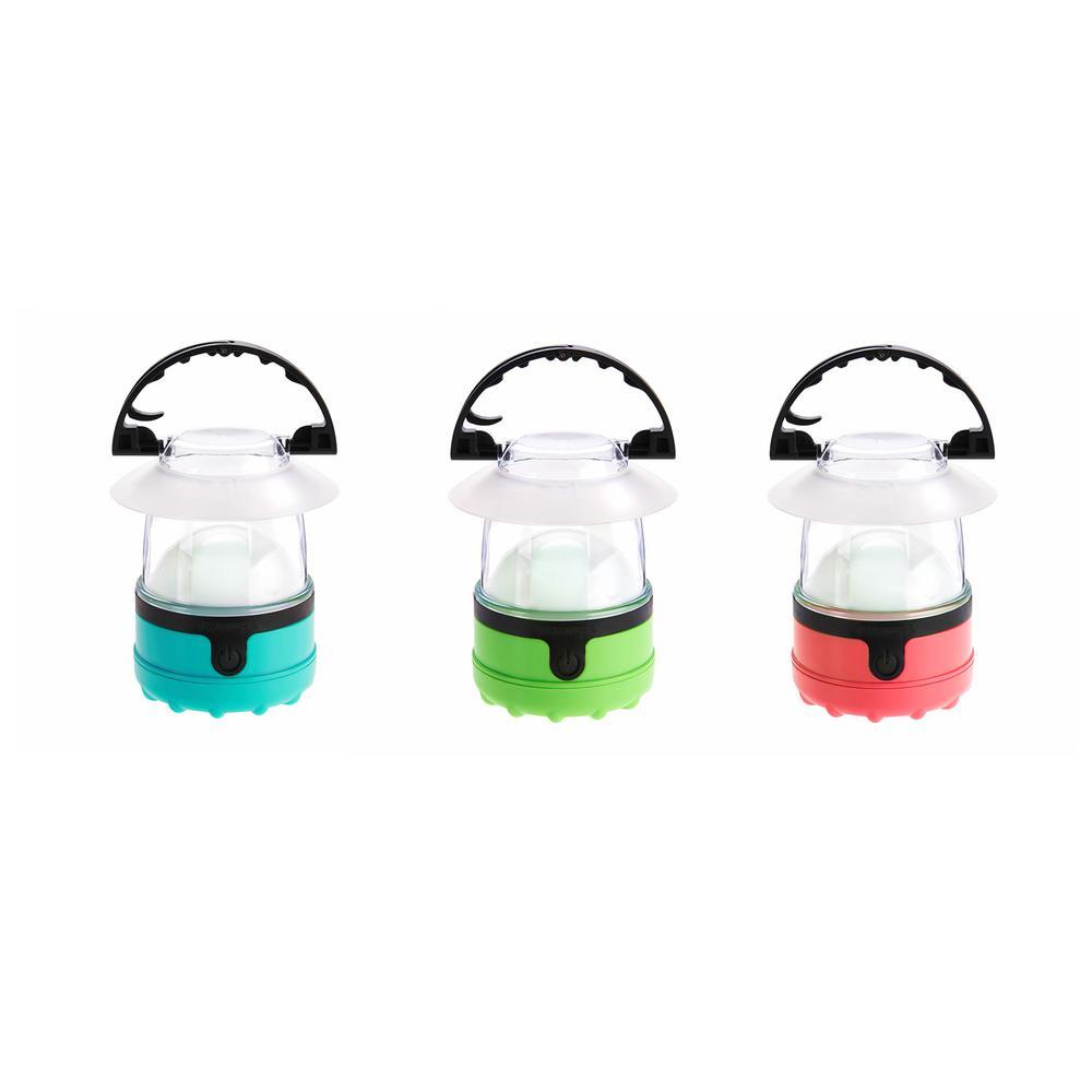 Mini LED Flashlight Lantern Set (3-Pack)