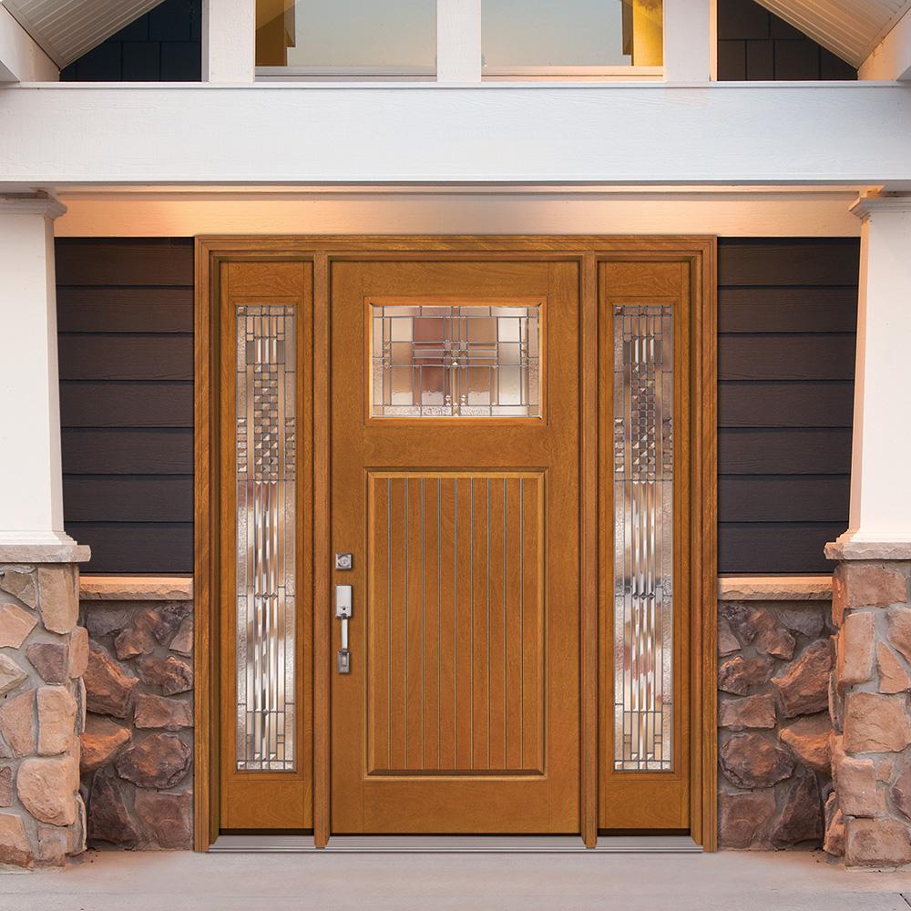 Feather River Fiberglass Cottage Door