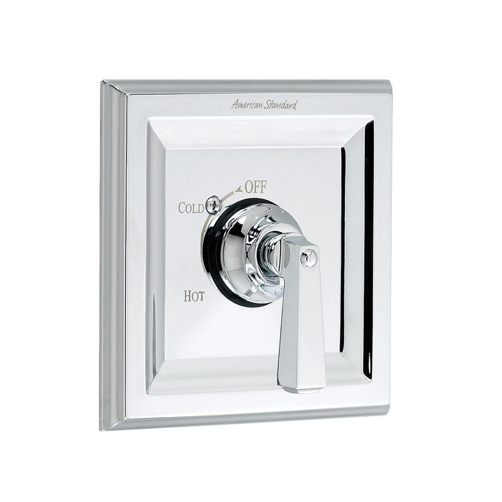Town Square 1-Handle Bath/Shower Valve Only Trim Kit in Polished Chrome