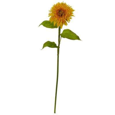 Indoor 26 in. Sunflower Artificial Flower (Set of 6)