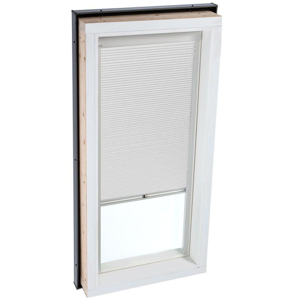 Manual Room Darkening White Skylight Blinds for FCM 2222 and QPF 2222 Models