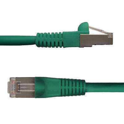 10 ft. Cat6 Snagless Shielded (STP) Network Patch Cable, Green