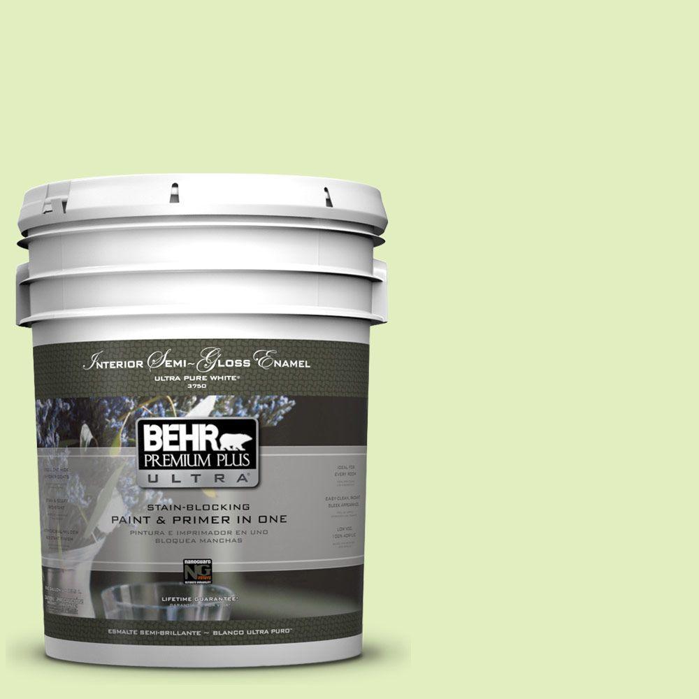 5-gal. #420A-2 Spirit Whisper Semi-Gloss Enamel Interior Paint